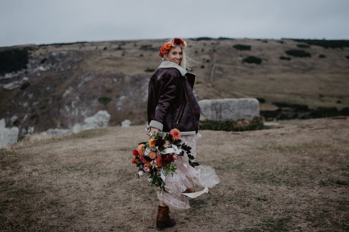 Lulworth Cove: A Wild Bride