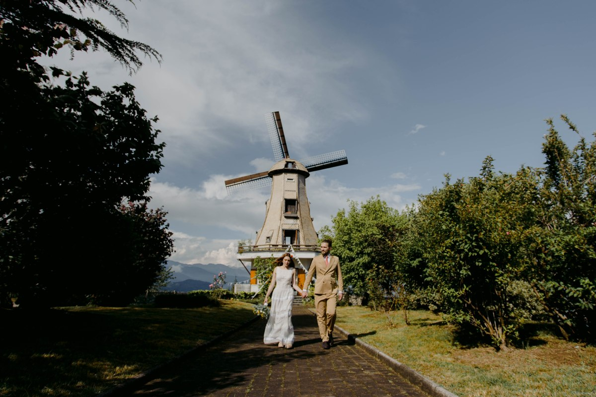 A 70s Inspired Windmill Wedding