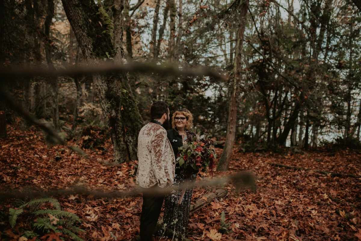 Wild & Edgy Engagement Shoot