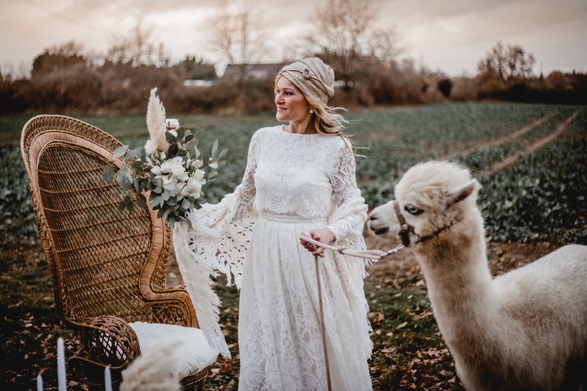 Neutral Moroccan Vibes…And An Alpaca!