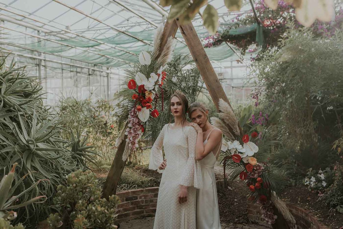 Frida-Inspired Greenhouse Vibes